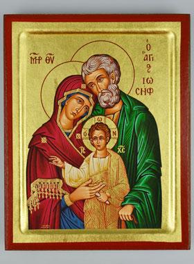 Icona Bizantina Sacra Famiglia 19cm La Boutique Di Lourdes