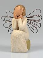 Angelo Willow Tree - Angelo Premuroso (Caring) - 10 cm